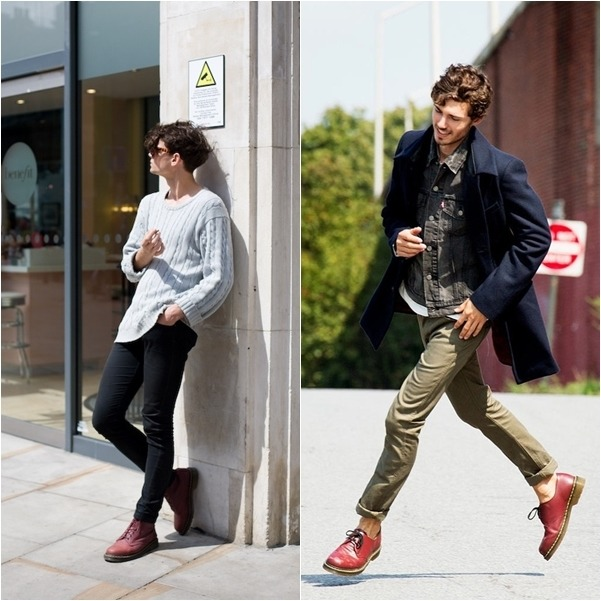 Cách phối đồ với giày Dr Martens nam